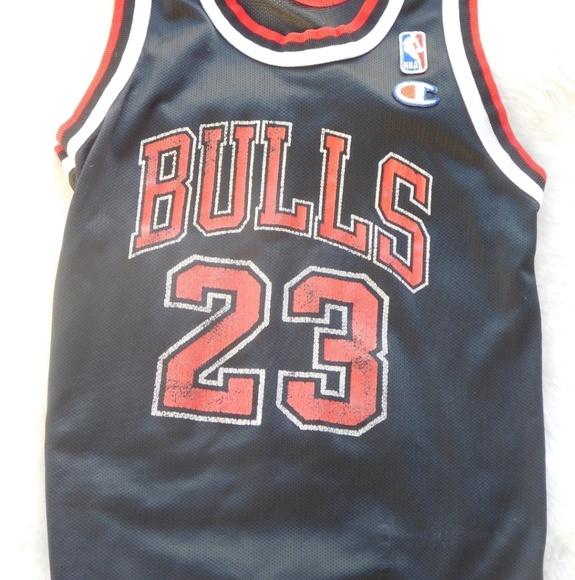 on sale d7988 66d79 Vintage Kids Champion Michael Jordan Bull Jersey